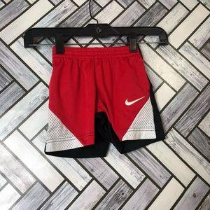 Nike Red/Black/White Athletic Shorts